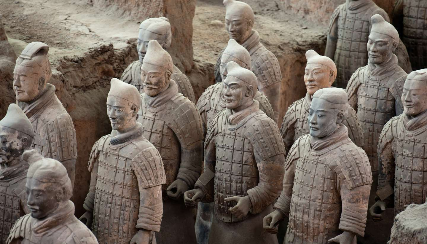 15 of the best lost cities - Terracotta Army