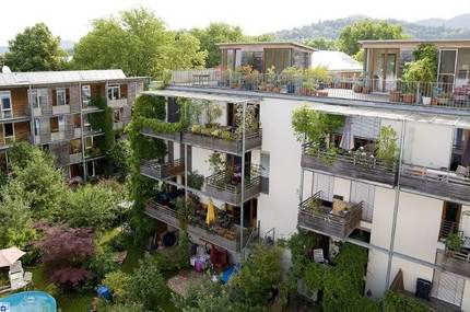 An eco-friendly 'inner city' district in Freiburg