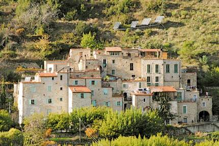 Torri Superiore is an eco-village in the Ligurian Alps