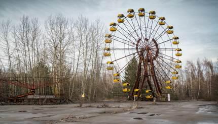 Abandoned amusement park, Pripyat, Ukraine