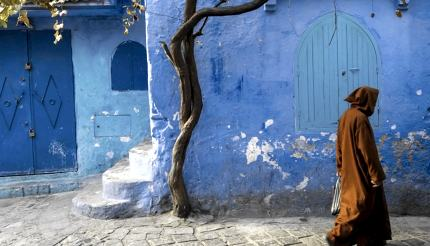 Life is languid in Chefchaouen's labyrinthine medina.