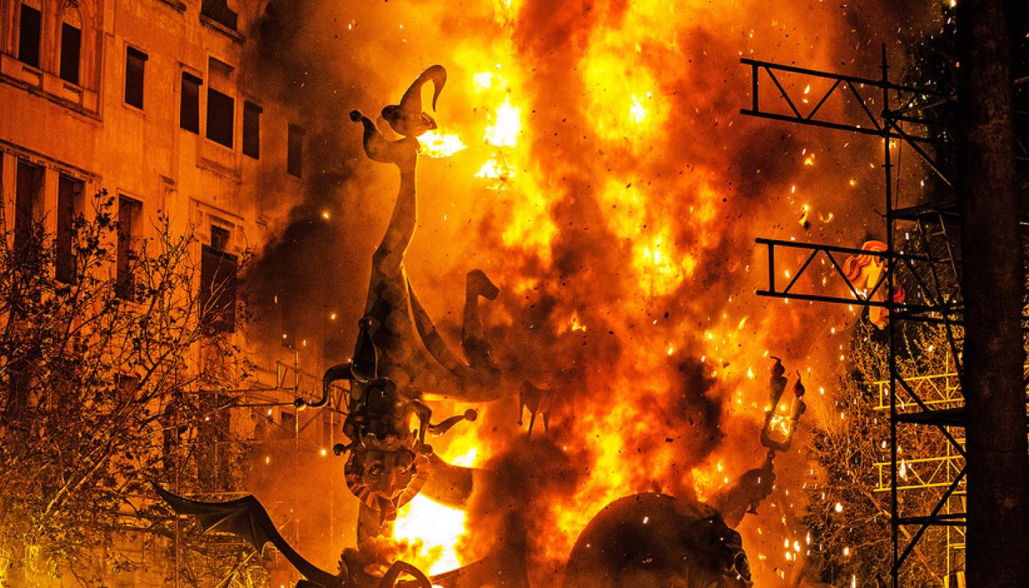 Las Fallas: Burning Valencia to the ground - las fallas burning valencia to the ground