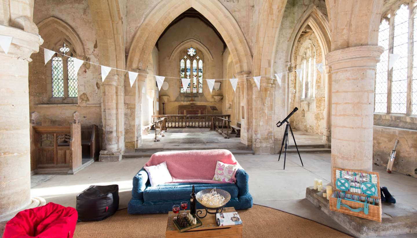 Camping in England's churches - sacred sleep camping england's churches