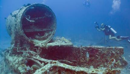 SS Thistleorm is now a popular dive site
