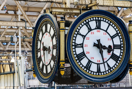 Will you find love under Waterloo's iconic clock face?