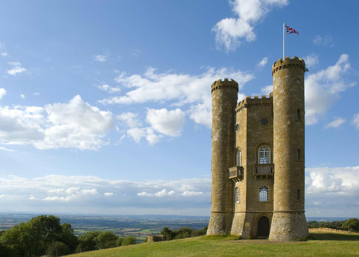 Broadway Tower, built for the Earl of Coventry in 1798
