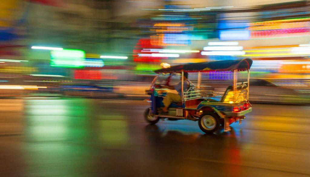 Thailand - Tuktuk, Bangkok, Thailand