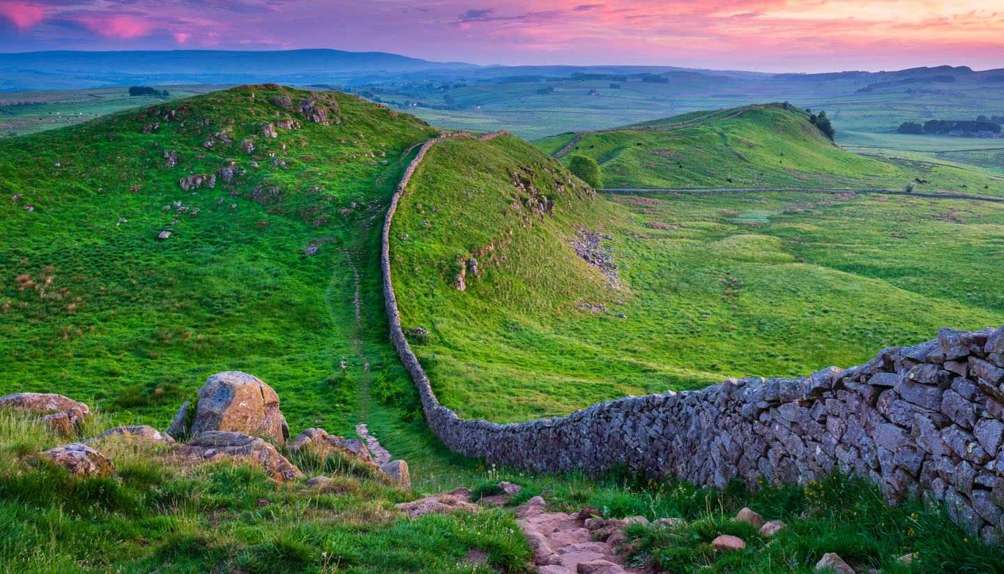 The 10 most scenic self-guided walking holidays in England - Hadrian's Wall Path