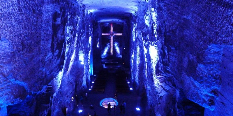 Catedral de Sal (Salt Cathedral) of Zipaquirá, Colômbia
