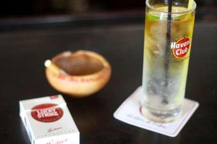 Quintessential refreshments in Cuba
