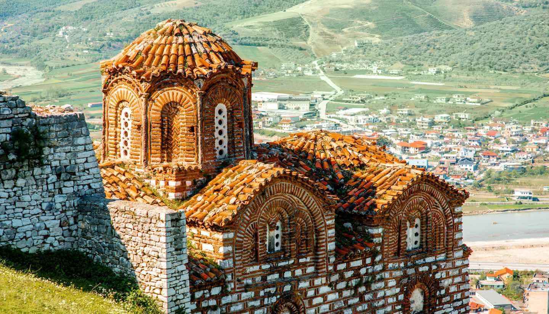 Albania - St Theodores church, Berat, Albania