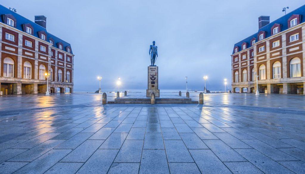 Argentina - Almirante Brown Square, Mar del Plata, Argentina