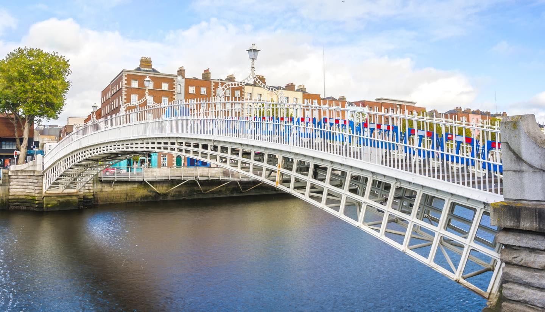 Dublin - Ha penny Bridge, Dublin, Ireland