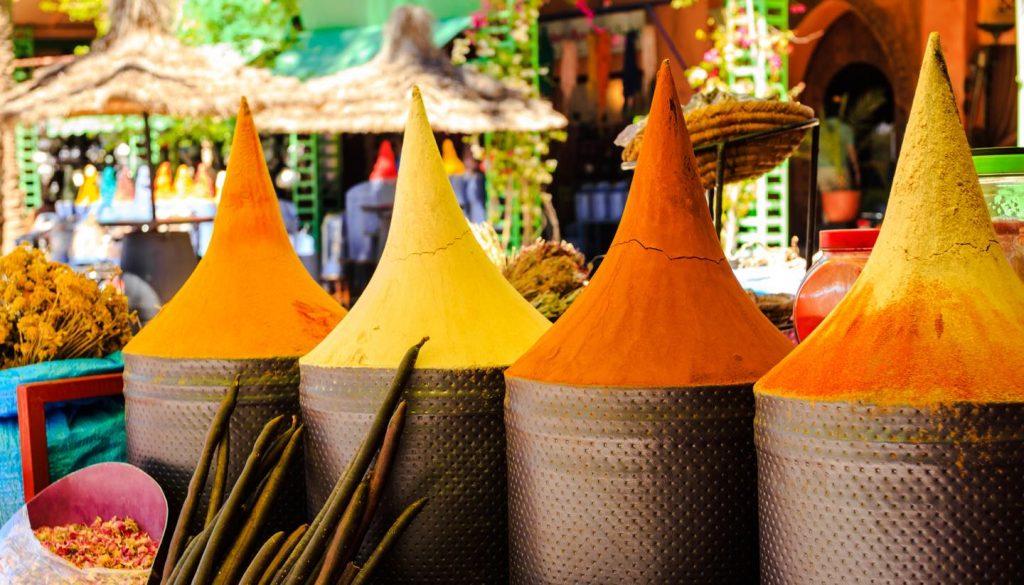 Marrakech - Moroccan spices