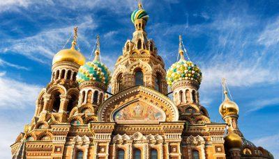 Church of the Savior, St Petersburg, Russia.