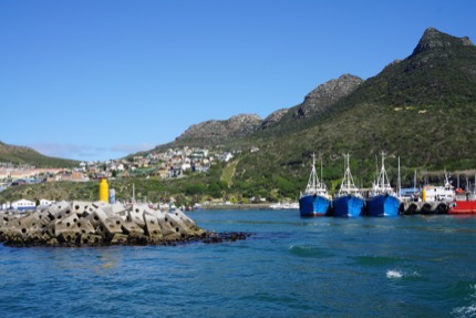 Yacht port in Cape town