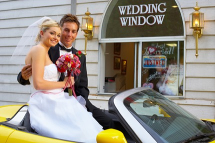 Drive up wedding, Las Vegas