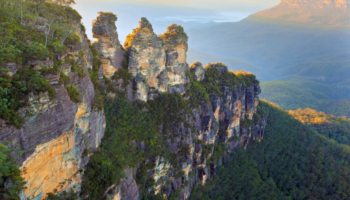New South Wales - Three Sisters, Blue Mountains, New South Wales, Australia