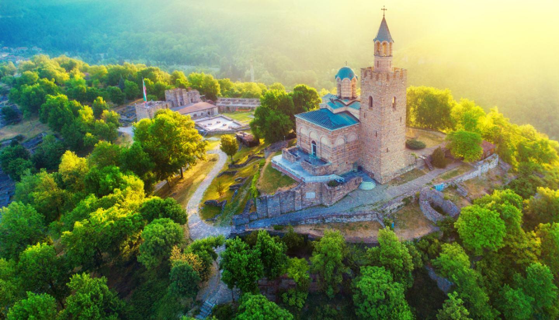 Bulgaria - Tsarevets in Veliko Tarnovo, Bulgaria