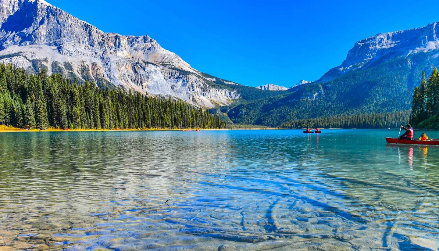 Canada - Emerald Lake in Yoho National Park