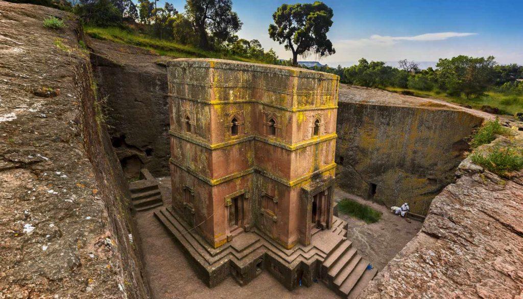 Ethiopia - St George's Church, Lalibela, Ethiopia