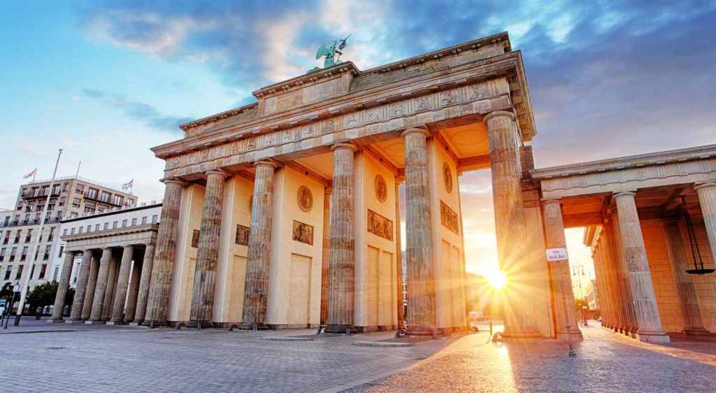 Germany - Bradenburg Gate, Berlin, Germany
