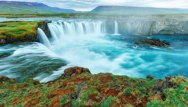 Iceland - Goðafoss Waterfall, Iceland