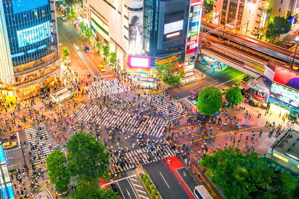 Tokyo - Shibuya Crossing, Tokyo, Japan