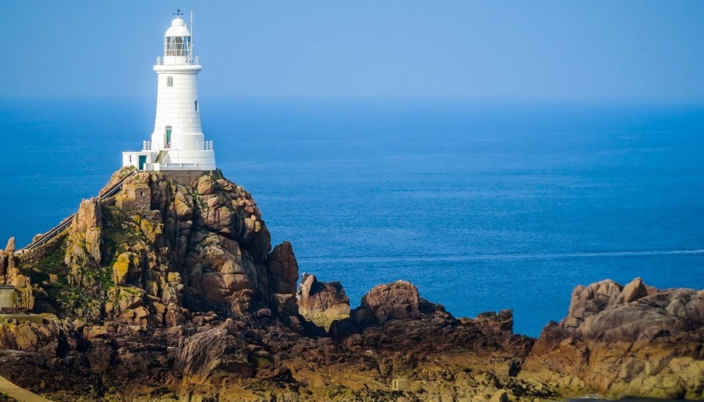 Jersey - La Corbiere Lighthouse, Jersey