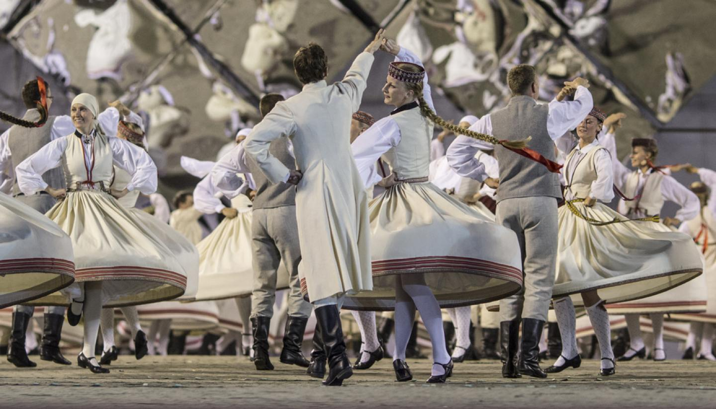 Latvia - Latvian Song and Dance Festival