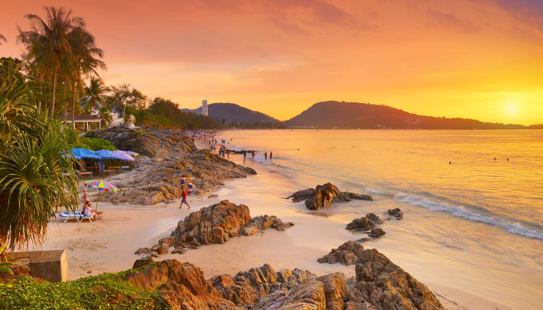 Phuket beaches - Patong Beach, Phuket, Thailand