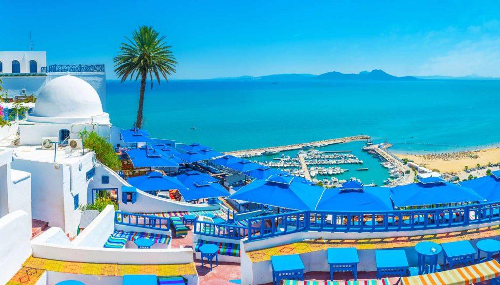 Tunisia - Sidi Bou Said, Tunisia