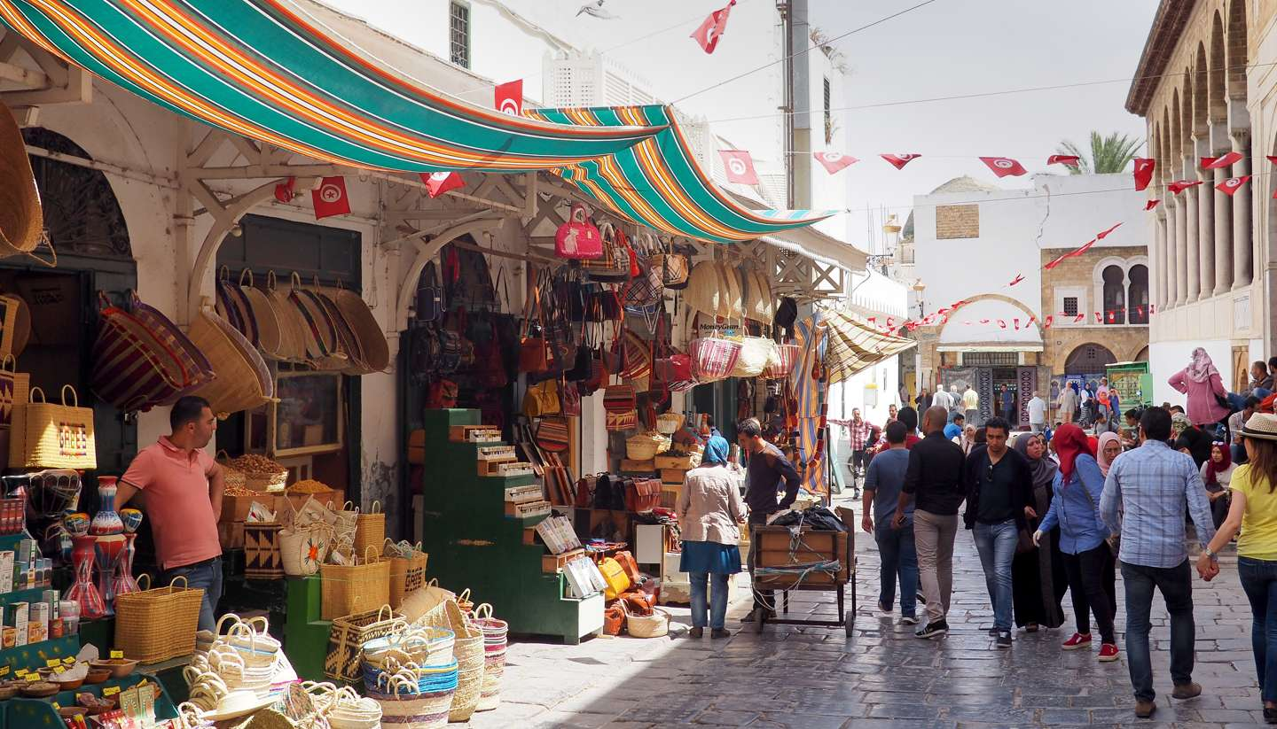 Tunis - The streets of Tunis, Tunisia