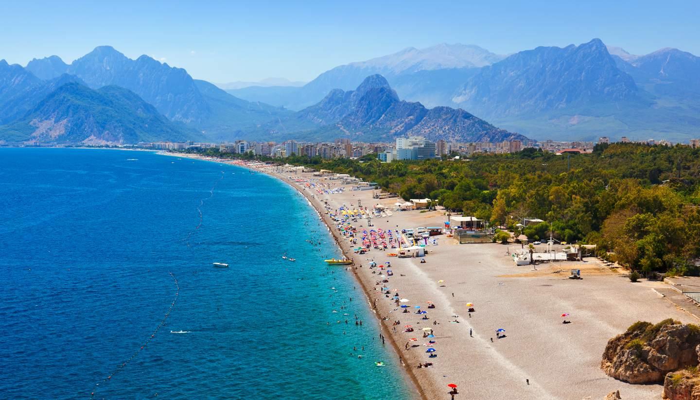Antalya beaches - Antalya Beach, Turkey