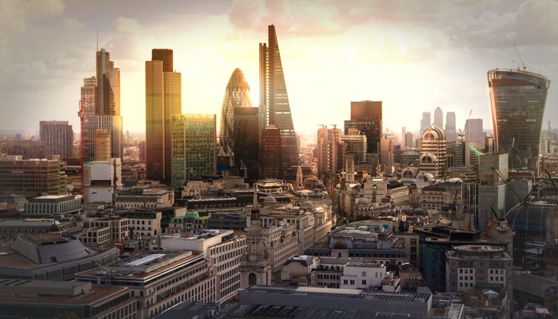 England - London skyline, England, United Kingdom