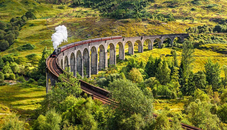 Scotland - Glenfinnan Viaduct, Scotland
