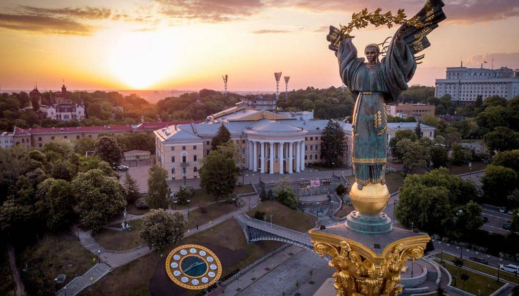 Ukraine - Monument of Independence, Kiev, Ukraine