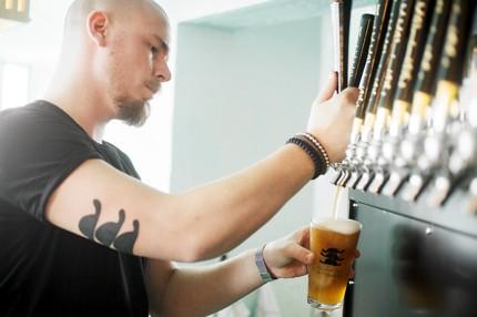 Mikkeller & Friends offers 40 craft beer on tap