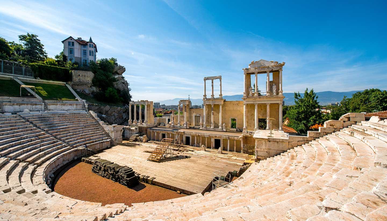 Bulgaria - Plovdiv Roman Theatre, Bulgaria