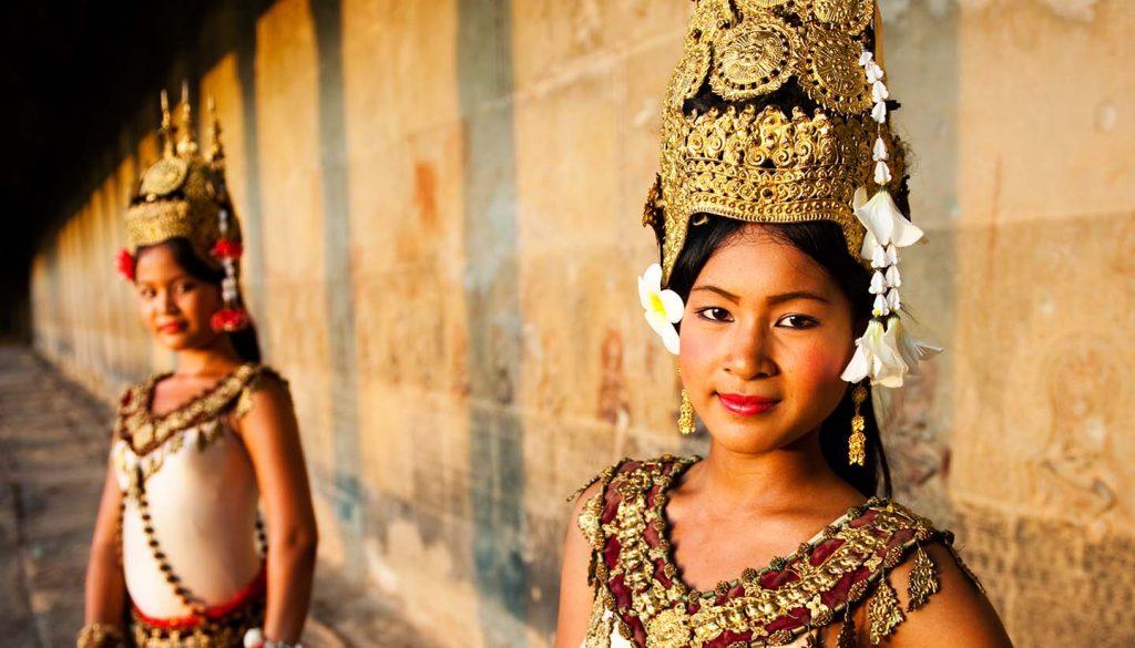 Cambodia - Aspara Dancers, Cambodia