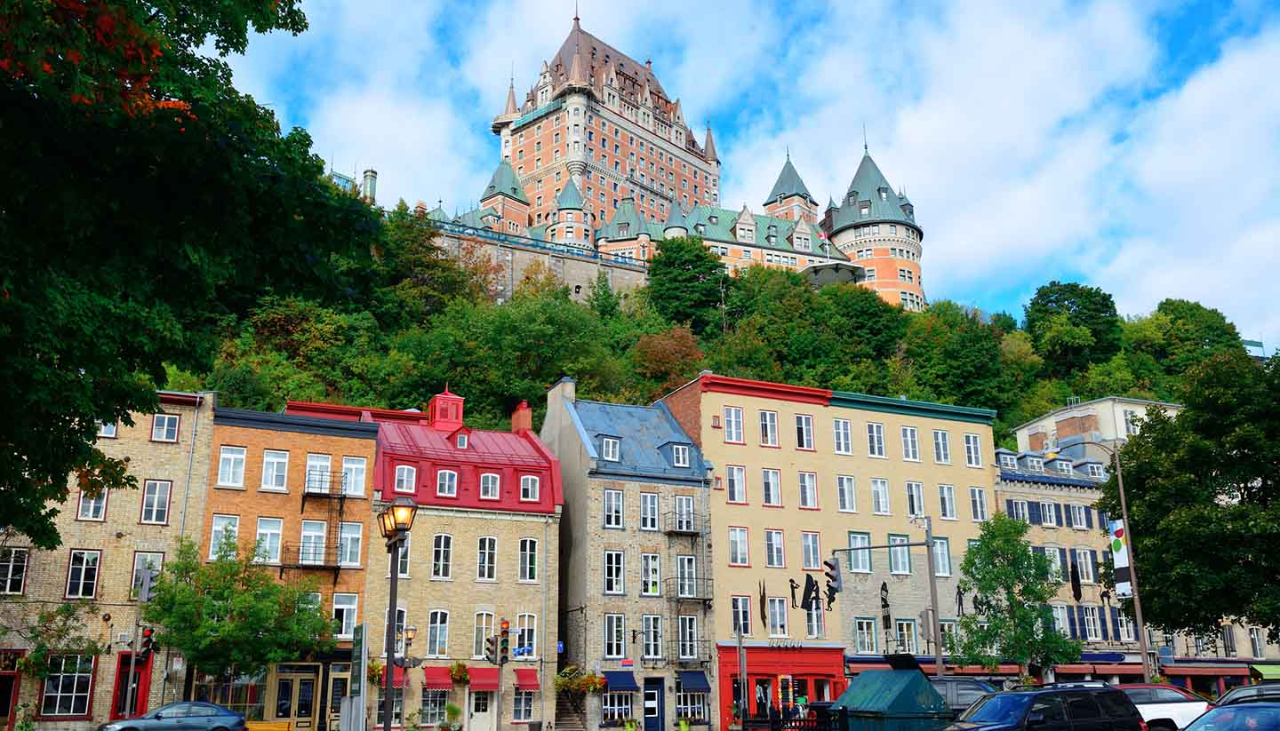 Quebec City - Chateau Frontenac Quebec, Canada
