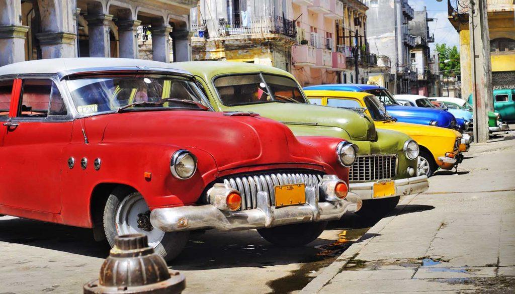 Havana - Colorful Havana Cars, Cuba