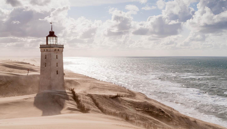 Denmark - Rubjerg Knude Lighthouse, Denmark