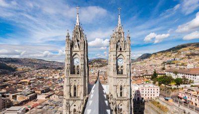 Basilica Quito, Ecuador