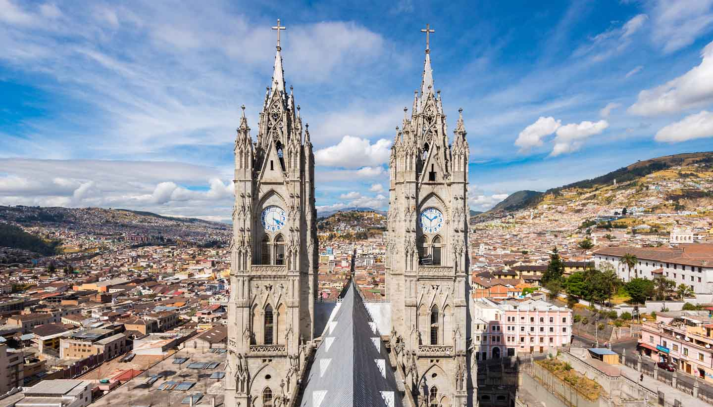 Discover the rich history of Quito