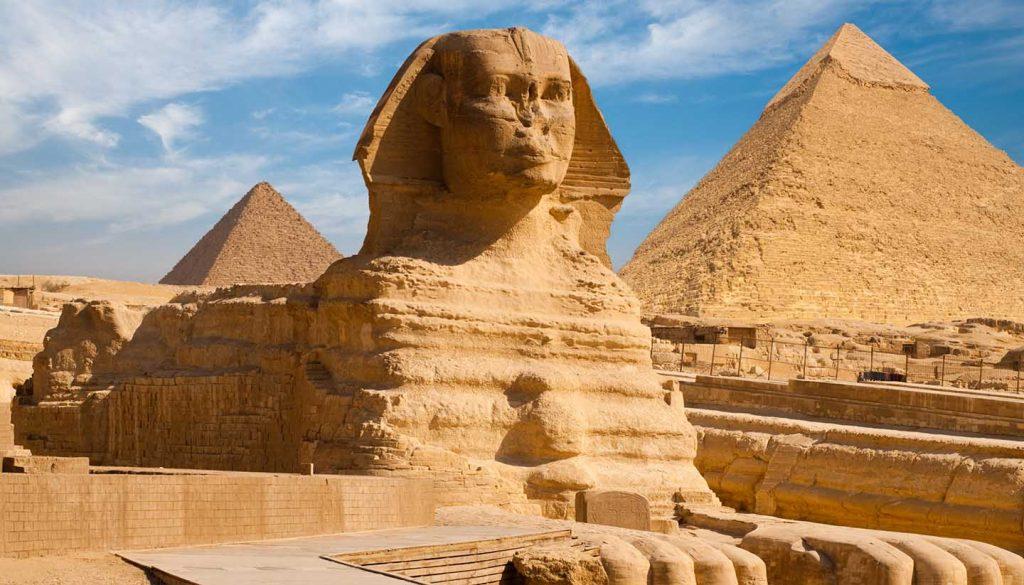 Egypt - Giza Sphynx Pyramids, Egypt