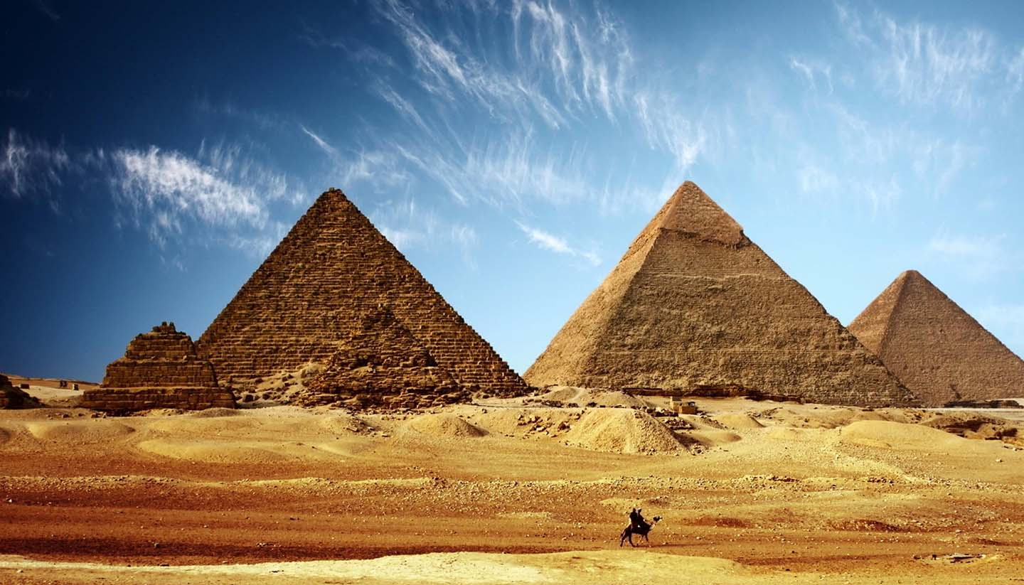Egypt - Pyramids of Giza, Egypt