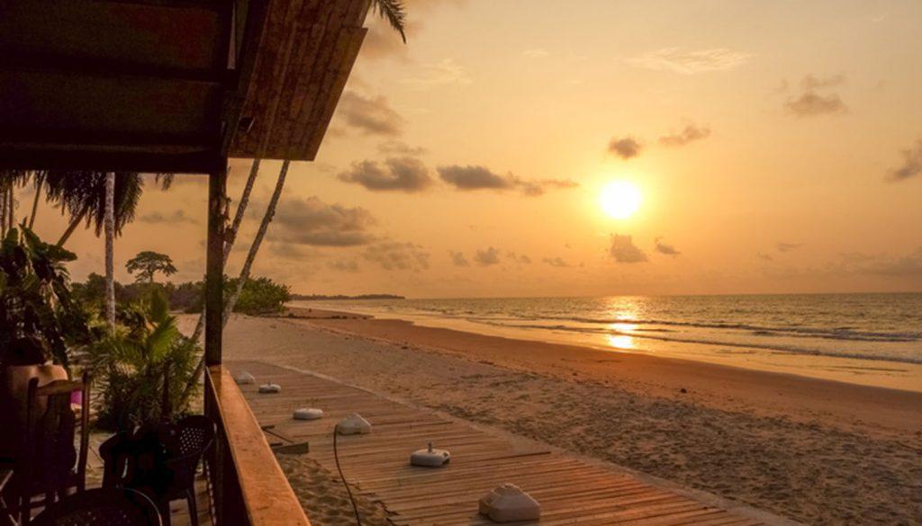 Equatorial Guinea - Bome Beach, Equatorial Guinea