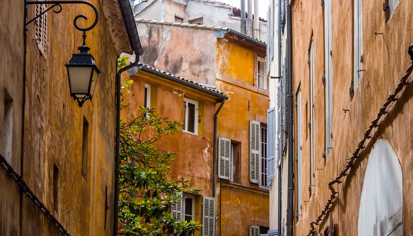 Aix en Provence - Old Town in Aix, France
