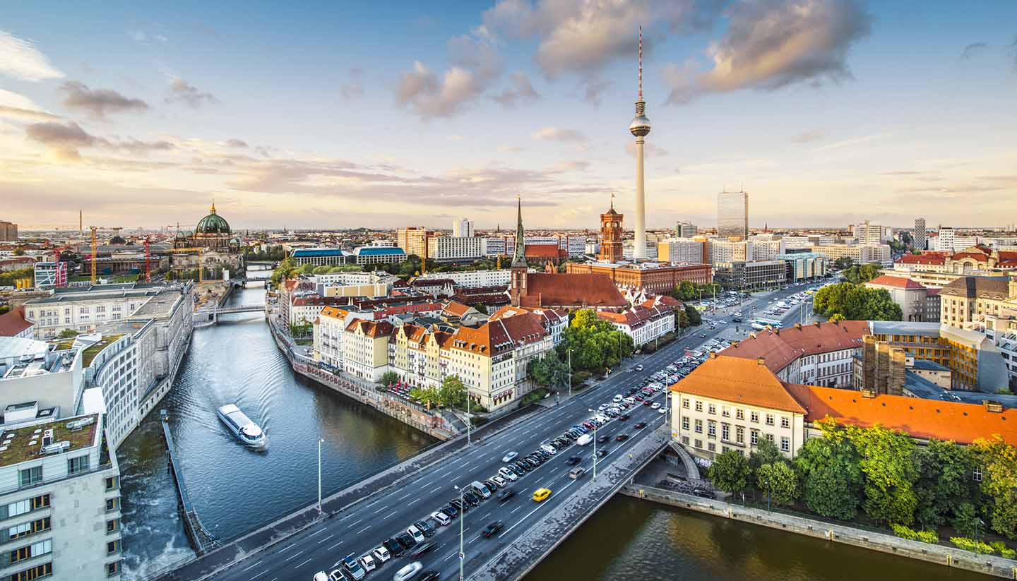 Berlin - Berlin Cityscape, Germany